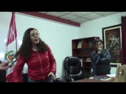 Rosa Bartra encarada no es bienvenida en Huamachuco por dirigente