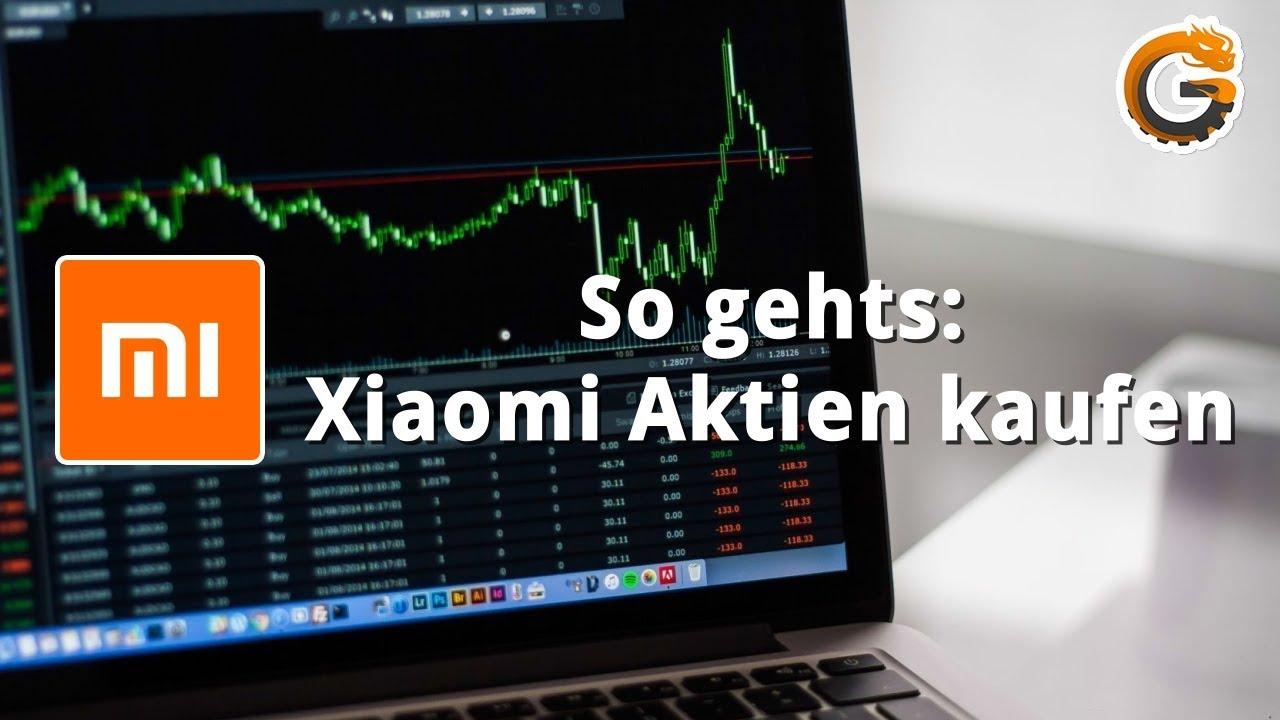 Xiaomi Aktien Kaufen