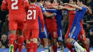 Диего Коста против Джеррарда vs Шкртела vs эмре кан 2015 !