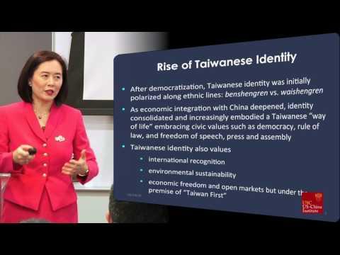 Syaru Shirley Lin Examines Sino-Taiwan Relations