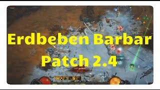 Diablo3 - Patch 2.4: Der Erdbeben Barbar (neues Macht der Erde Set)