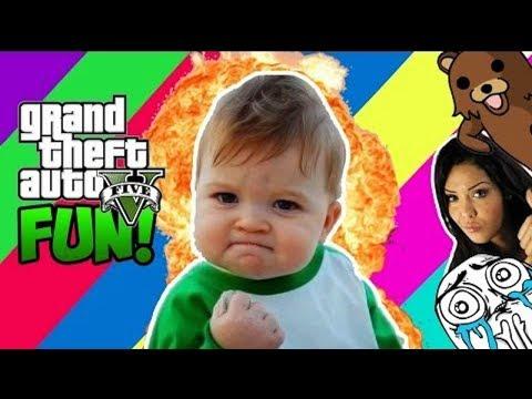 Best of Délires GTA 5 - VOLER dans GTA Online avec Nabilla!