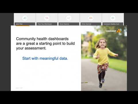 HCI Webinar Series – Part 2:  Community Health Dashboards