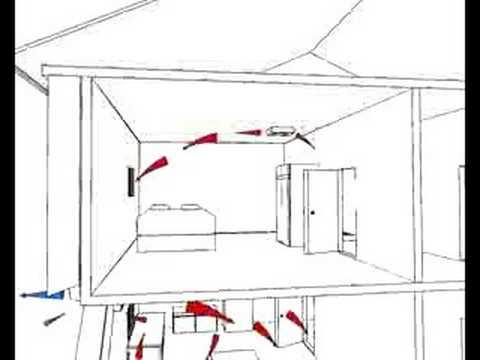 Single Room Heat Recovery Extractor Fan Installation