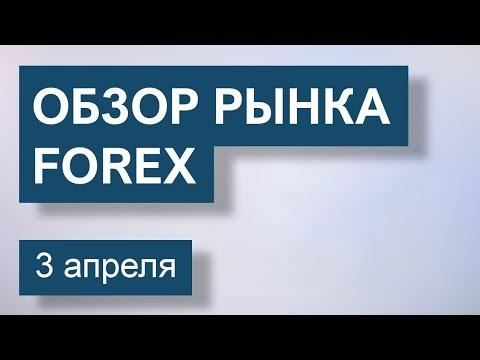 3 Апреля. Обзор рынка Форекс EUR/USD, GBP/USD, USD/JPY, GOLD