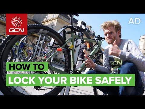 How To Lock Your Bike Securely   Urban Cycle Security Tips