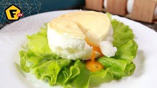 САМАЯ ПЫШНАЯ ЯИЧНИЦА —  жареное яйцо пашот — РЕЦЕПТ — как готовить?