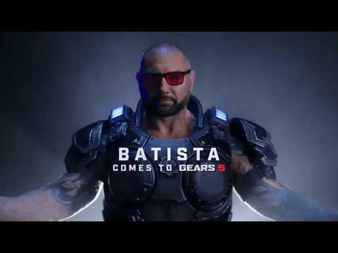 Bautista in GEARS 5   باتيستا ينضم إلى لعبة جيرز ٥