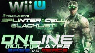 """Wii U Splinter Cell: Blacklist Online Multiplayer Gameplay"" (""Spies vs. Mercs Gameplay"")"