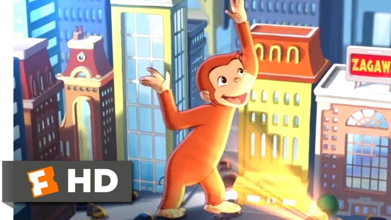 Download Curious George (2006) - Giant George Scene (8/10)   Movieclips