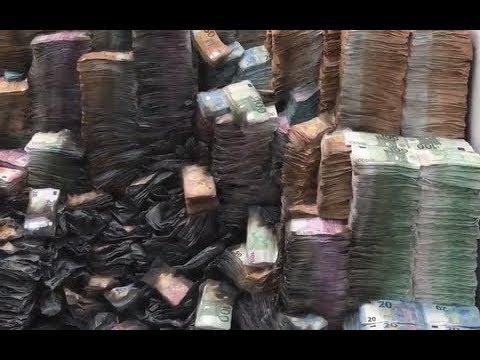 Обгоревшие тонны денег по делу Арашукова