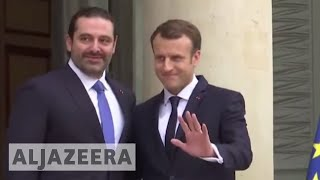 Hariri in France, vows to return to Lebanon by Wednesday