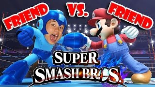SUPER SMASH BROS. Wii U - Friend vs Friend Battle!