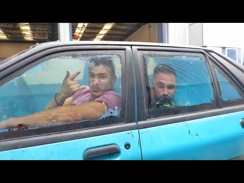 Driving the world's first UNDER WATER CAR!!
