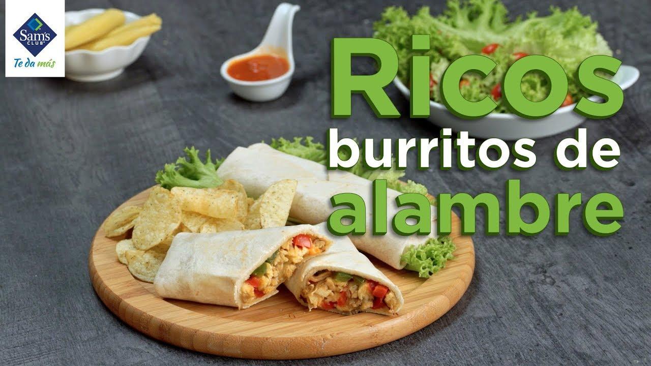 Burritos De Alambre Youtube