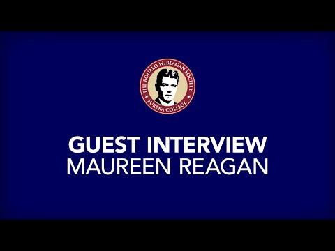 Maureen Reagan   Full interview   Eureka College on March 4, 2000