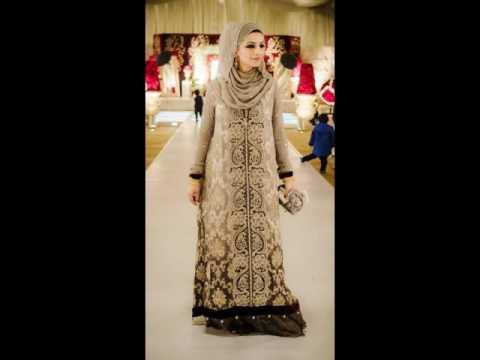 83ef28bdd  أجمل فساتين سهرة للمحجبات جديدة 2016 hijab fashion style - YouTube