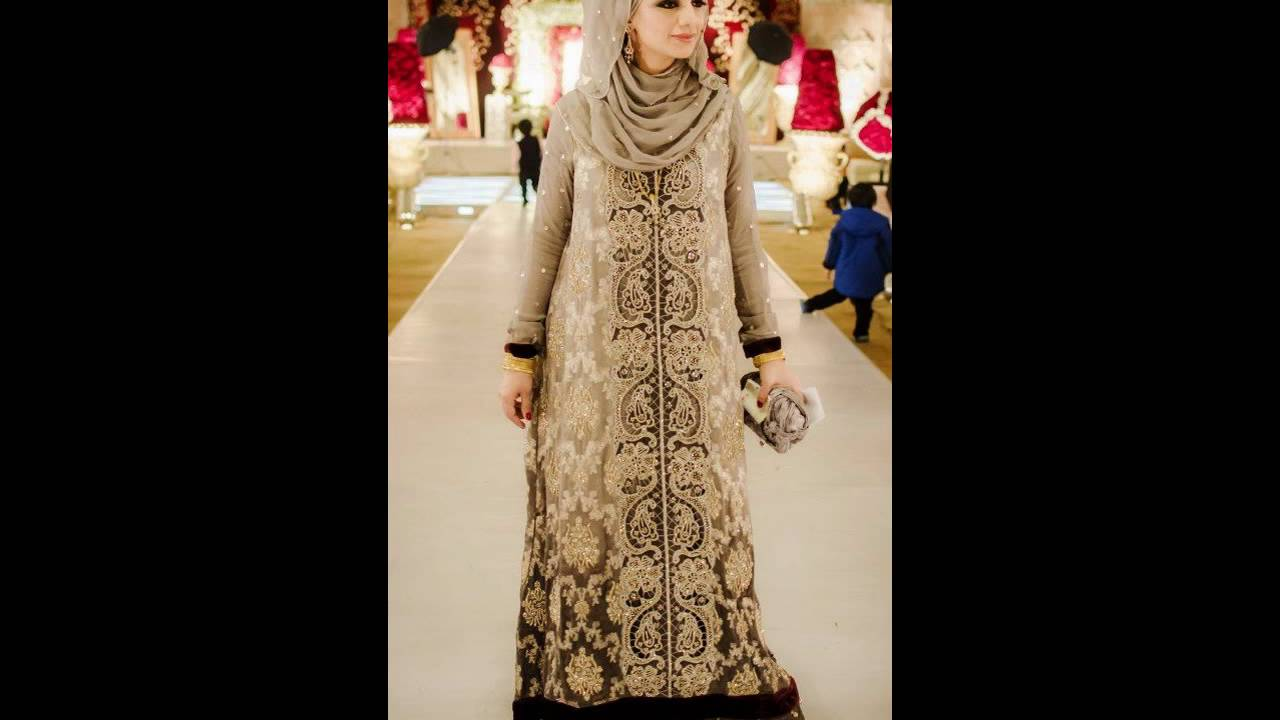 14c3f8909c05c  أجمل فساتين سهرة للمحجبات جديدة 2016 hijab fashion style - YouTube