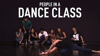 People In A Dance Class