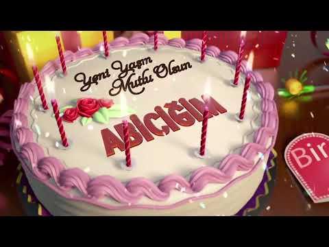 İyi ki doğdun ABİCİĞİM - İsme Özel Doğum Günü Şarkısı