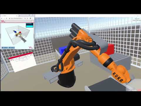 Roboterinteraktion in der Augmented und Virtual Reality