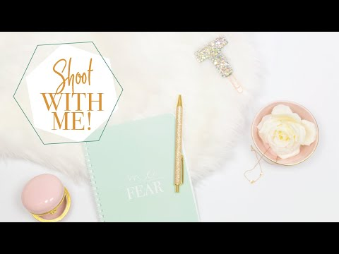 Shoot With Me | Product Photography Tips | Flatlay Styling Tips | The Stationery Muse