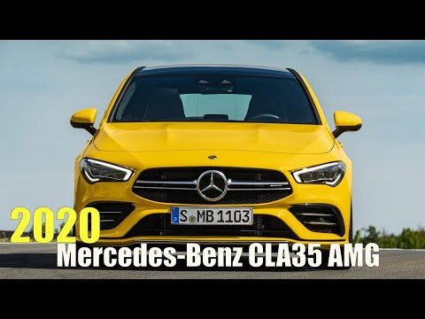 2020 Mercedes-Benz CLA35 AMG 4Matic Shooting Brake
