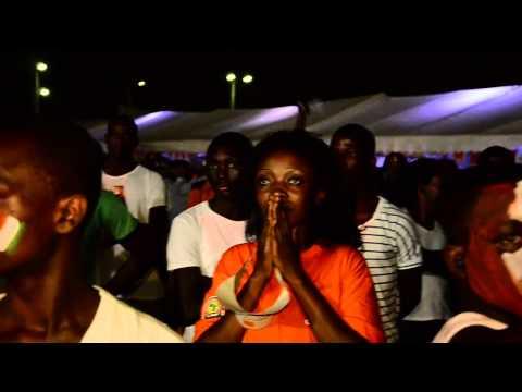 FINALE CAN 2015 / CÔTE D'IVOIRE - GHANA  au Village Orange du Campus