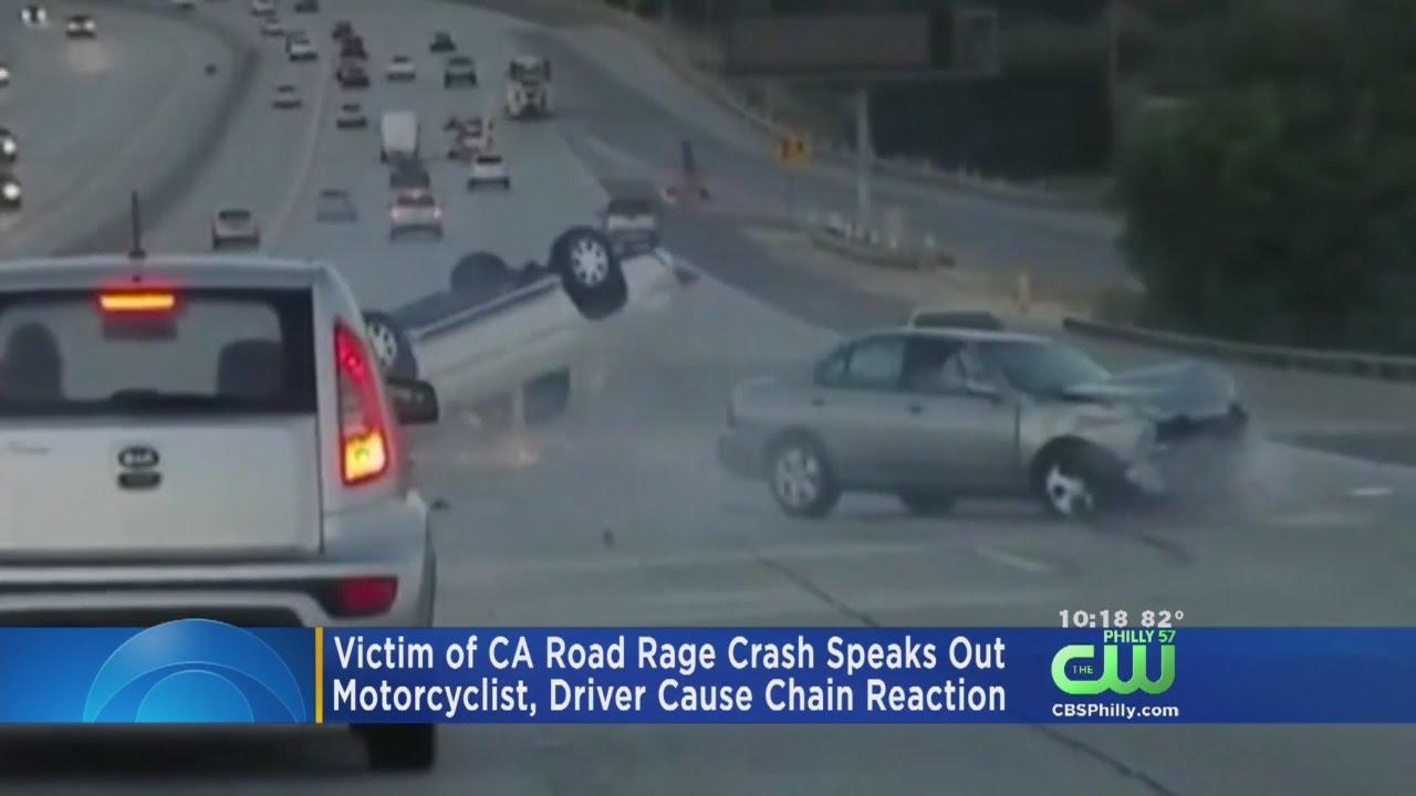 Victim Of California Road Rage Crash Speaks Out