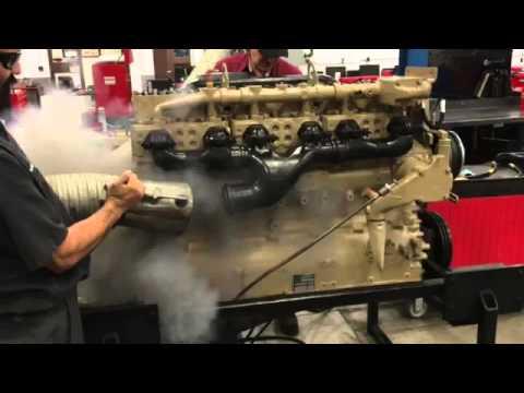 Cummins NH 855 engine start up