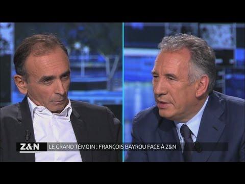 François Bayrou invité de Zemmour et Naulleau (12/10/2016)