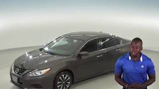 G96865TR - Used, 2017, Nissan Altima, Sedan, Brown, Test Drive, Review, For Sale -