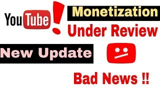 New Update : Final Decision on Monetization under review problem of YouTube channel pending