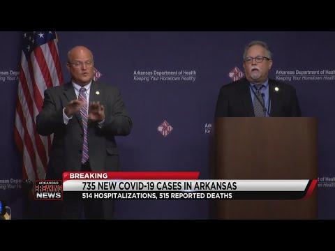 Arkansas COVID-19 Update 08-06-20