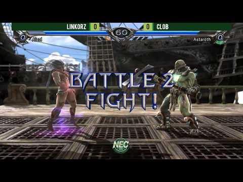 NEC18 - Day 3 - Soulcalibur V Top 8 Finals [1080p/60fps]