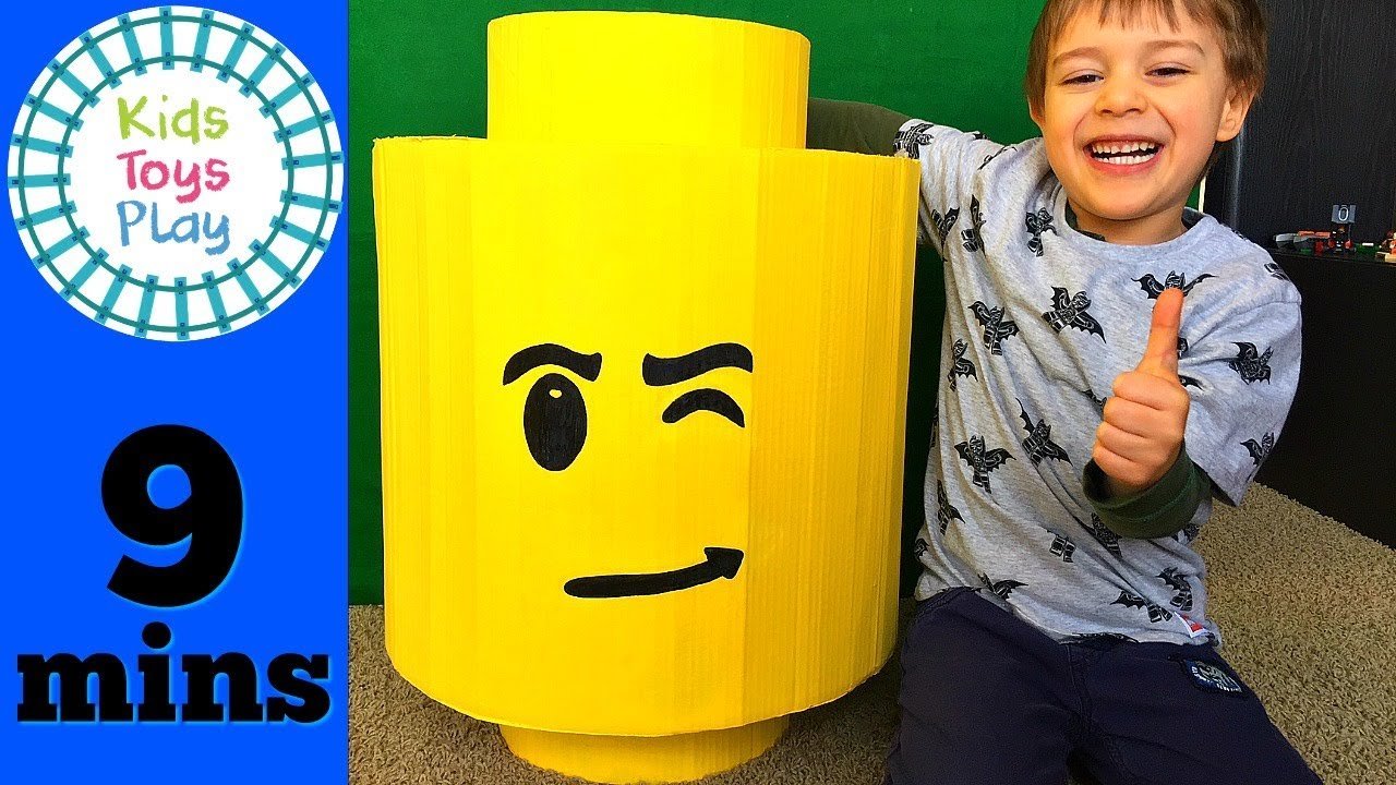 GIANT LEGO Surprise Egg! | Happy Birthday William! | LEGO City Surprise Toys for Kids!