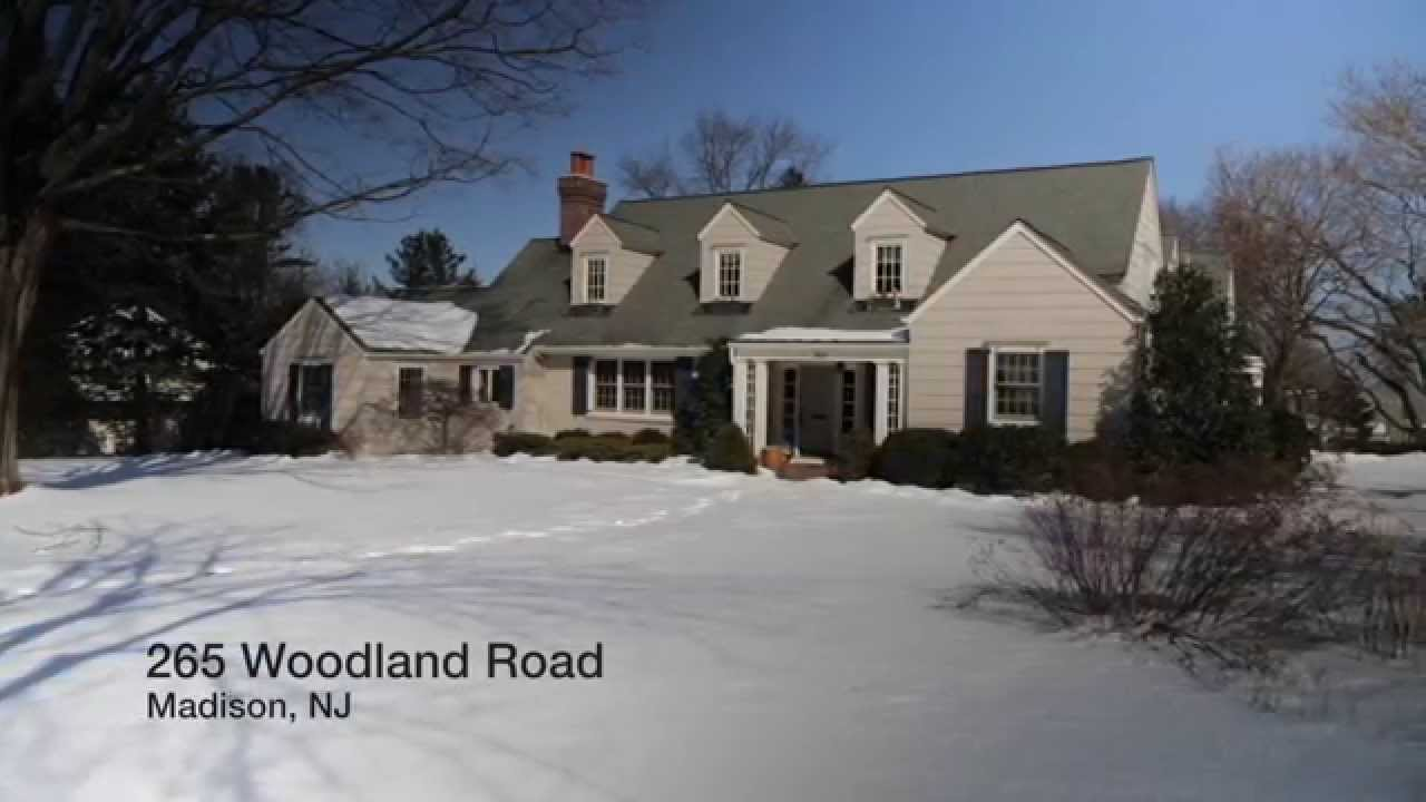 265 Woodland Road Madison Nj Real Estate Homes For Sale Youtube