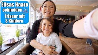 Elisas Friseur Besuch! Haare schneiden mit 3 Kindern 🤪 Marmelade kochen! Mama VLOG | Mamiseelen