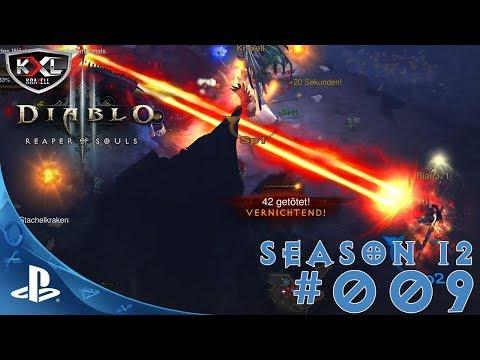DIABLO 3 [PS4 Pro   UEE   SEASON 12 ] #009 - Auf dem Weg zur 70! ➥ Let's Play