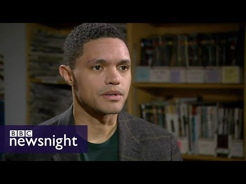 Trevor Noah on Donald Trump and racism in the US – BBC Newsnight