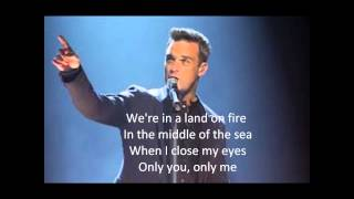 Robbie Williams  (Take The Crown) Reverse lyrics