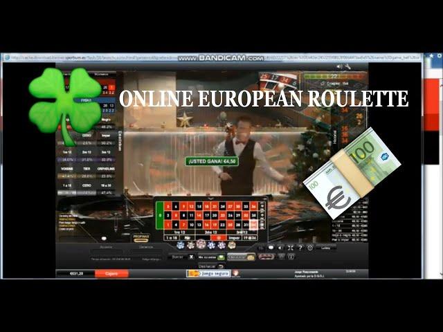 ✌️Online roulette, how to live from roulette⭐️ Ruleta online ,como vivir de la ruleta