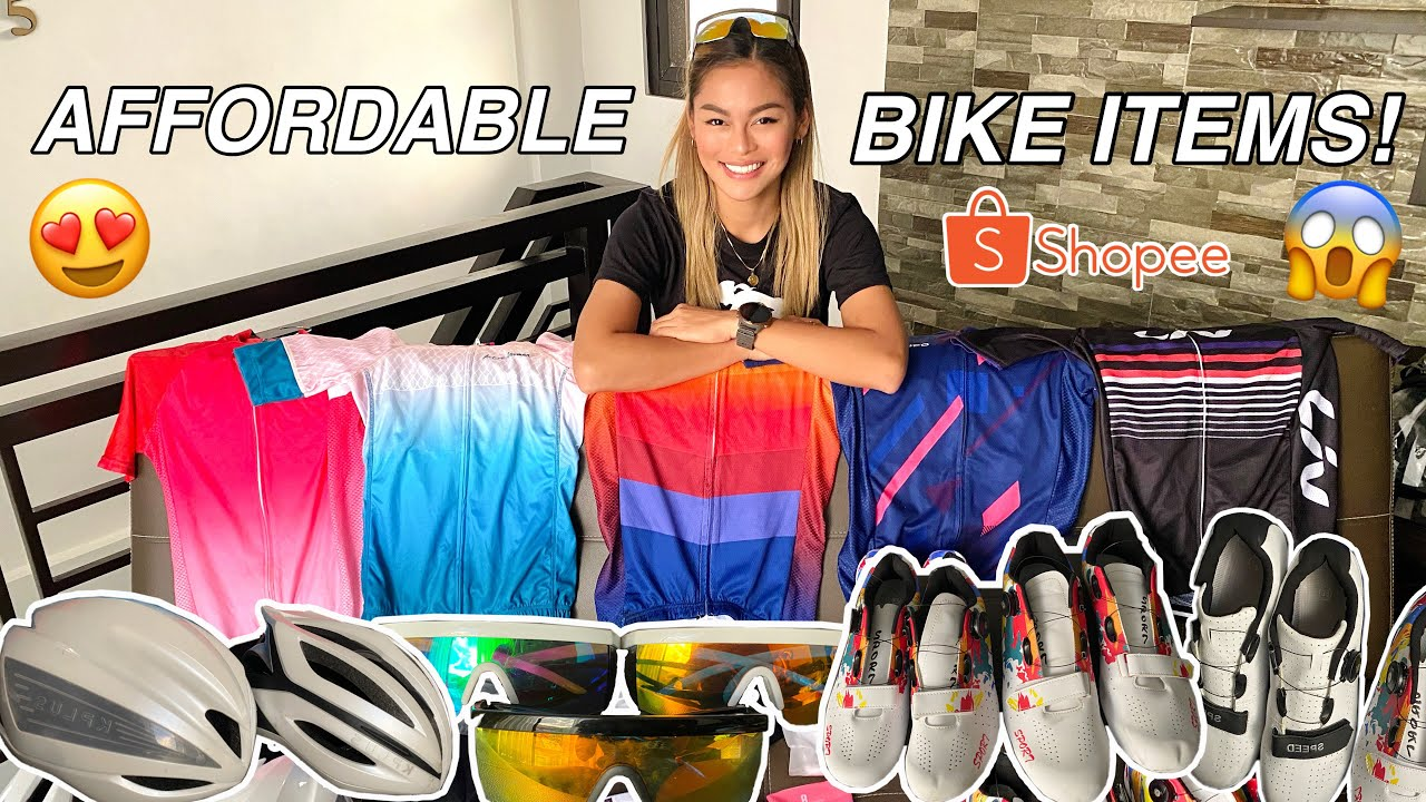 SULIT BIKE ITEMS HAUL (SUPER MURA!) | SHOPEE 3.3 MEGA SHOPPING SALE