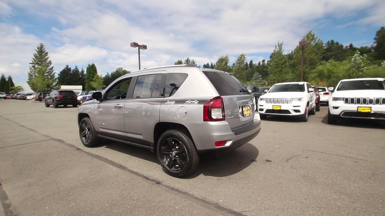 2016 Jeep Compass Sport | Billet Silver Metallic | GD719142 | Redmond |  Seattle |