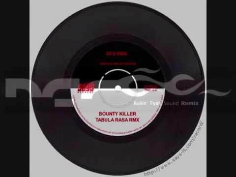 Bounty Killer vs Mellowbag & Freundeskreis  Tabula Rasa RMX