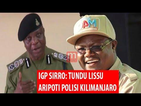 Download BREAKING: IGP SIRRO AMTAKA TUNDU LISSU KUFIKA POLISI/ANAGOMBANA/HANA UWEZO/TUTAWASHUGHULIKIA