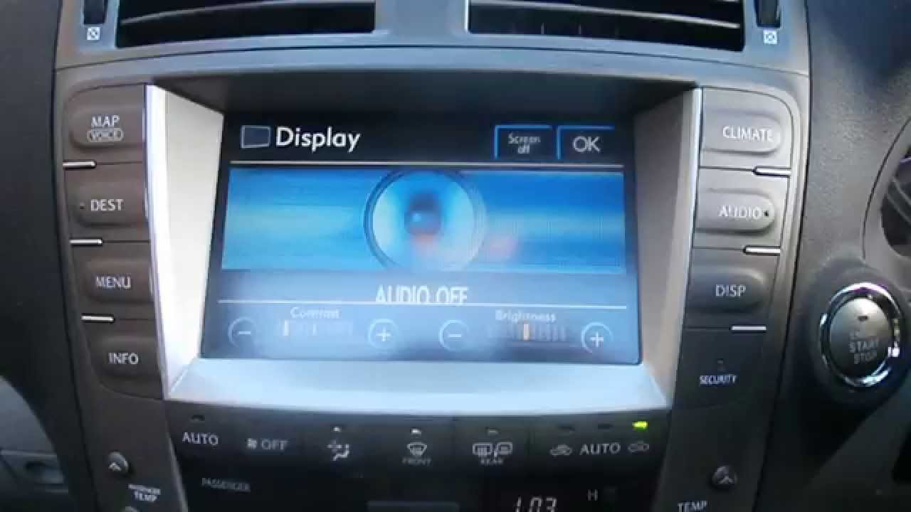 WRECKING 2006 LEXUS IS250IS250C 25 SAT NAV J13784 YouTube – Is250 Fuse Box Location