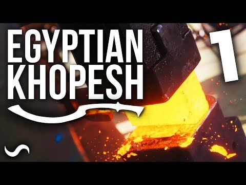 MAKING AN EGYPTIAN KHOPESH!!! Part 1