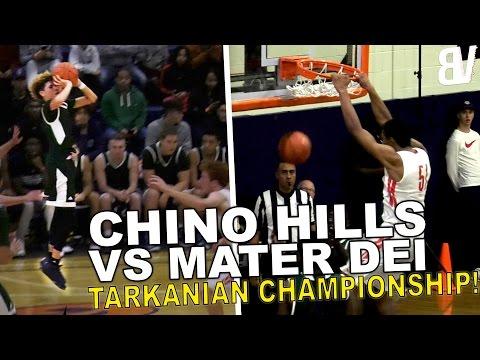 Chino Hills VS Mater Dei Battle For Tarkanaian Championship! | FULL HIGHLIGHTS