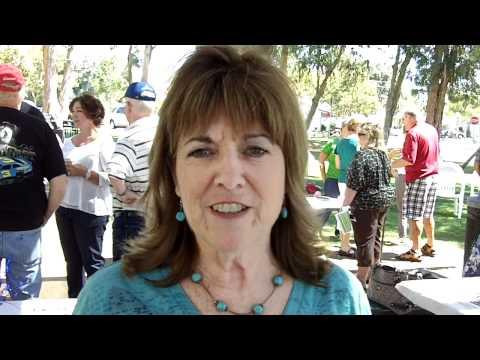 Sally McCamish at her 50 year reunion of Yorba Linda Elementary School September 19, 2010